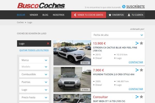 coches de ocasión en Lugo